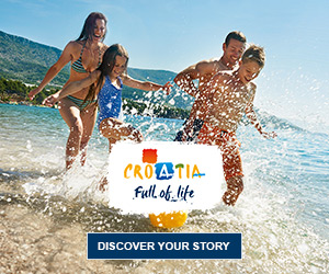 Croatia tourism website