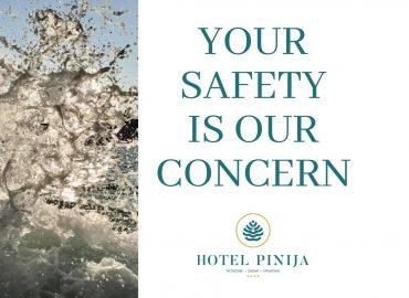 Health & Safety u hotelu Pinija