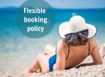 Booking Policy in the Hotel Pinija 2021