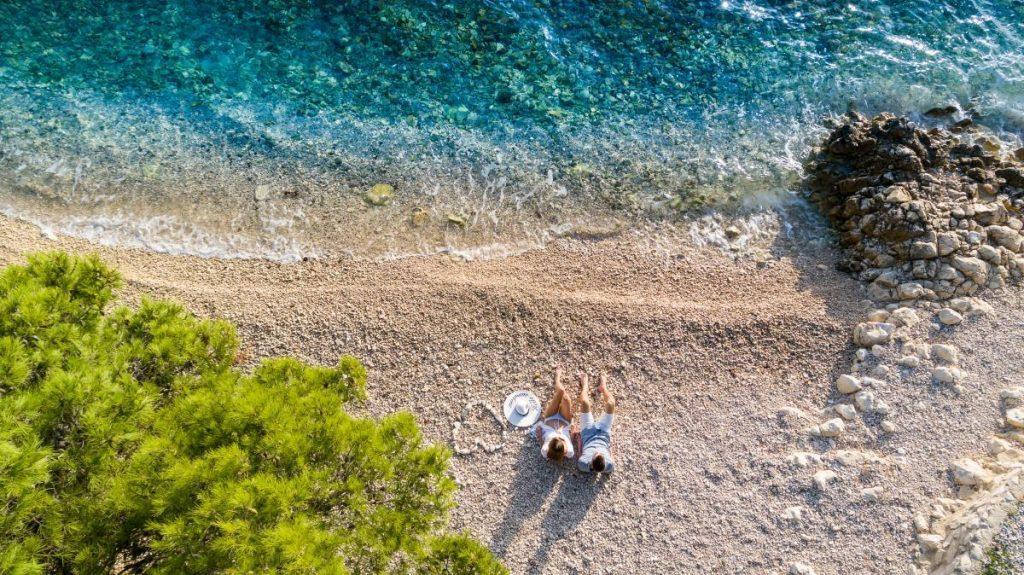 Perfekte Erholung am Meer in Petrčane genießen