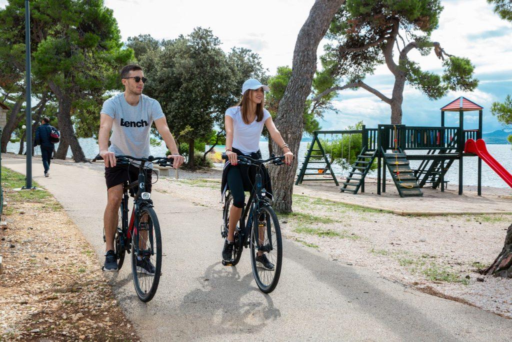 Cycling on holiday in Zadar region