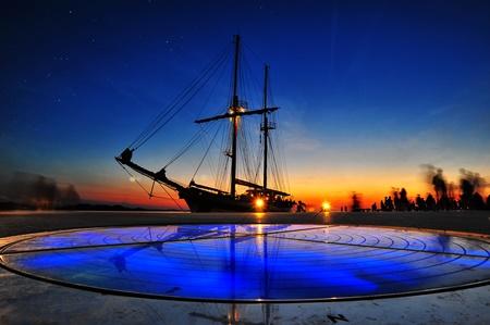 Wunderschöner Sonnenuntergang in Zadar (Fotoquelle: Tourismusverband Zadar )